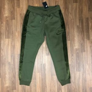 🔥 NWT Nike Olive Green Jogger Sweatpants Mens XL